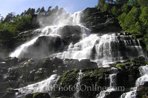 Flam - Tvindefossen Waterfall 1