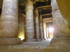 Abydos - Temple of Osiris - Close-up of interior columns