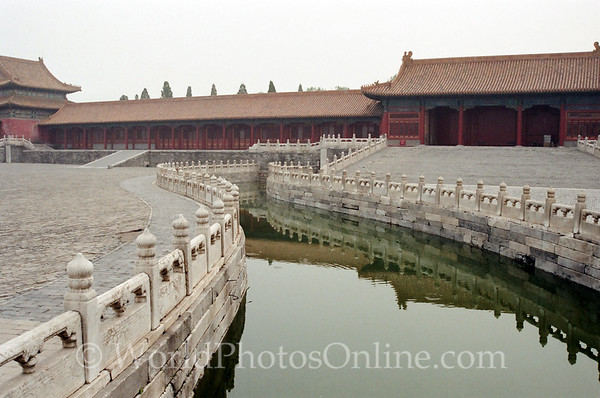 Beijing - Forbidden City - Moat in front of gate of Supreme Harmony 2
