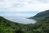 Moorea - View of Opunohu Bay from Drive to Magic Mountain