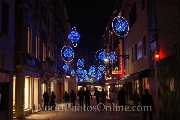 Venice - Christmas street decorations