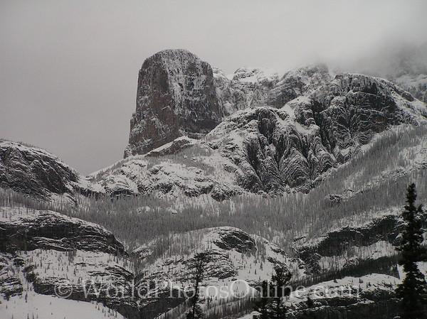 AB - Jasper National Park - Roche Miette