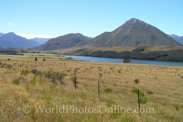 South Island - Lake Coleridge by Southern Alps