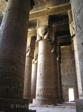 Dendara - Temple of Hathor - Hypostyle Hall