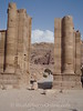 Petra - Gate to Colonnaded Street