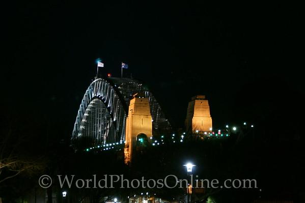 Sydney - Harbor Bridge at Night