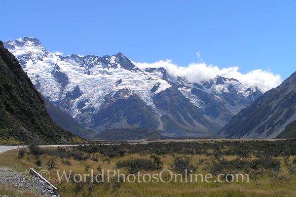 South Island - Mt Cook - Hooker Glacier