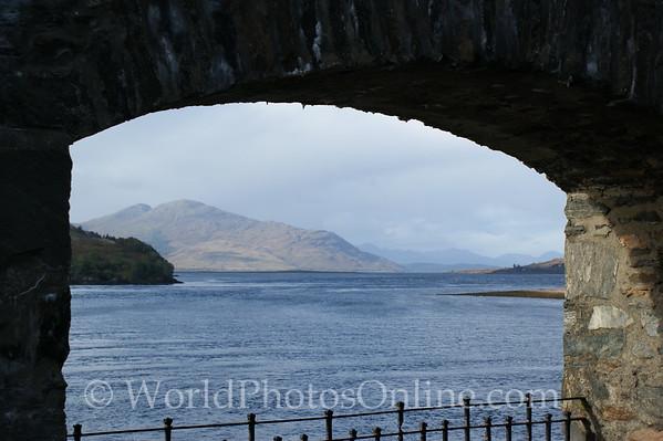Loch Duich - Eilean Donan Castle - Loch View