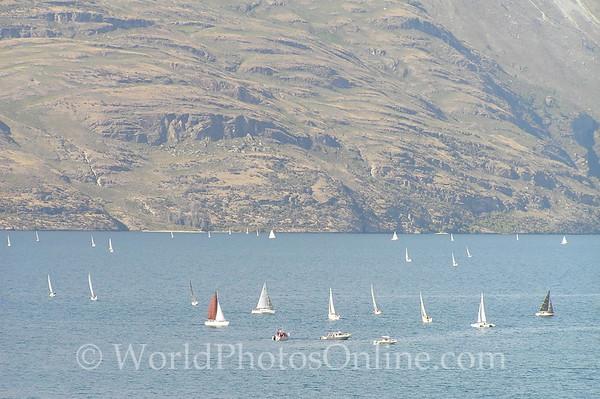 Queenstown - Sailing on Lake Wakatipu