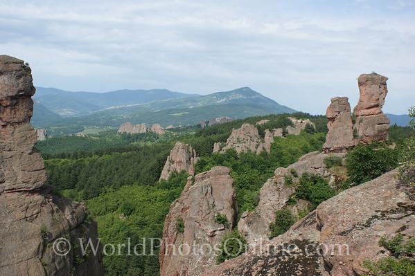 Vidin - Belogradchik Castle - View of Surrounding Countryside 2