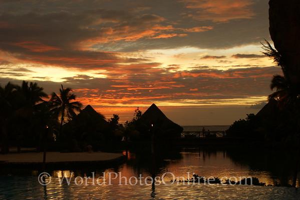 Tahiti - Sunset from Intercontinental Hotel