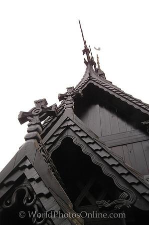 Bergen - Fantoft Stave Church