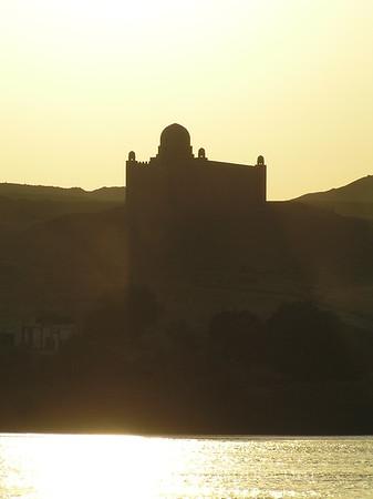 Aswan - Mausoleum of Aga Khan (1957)