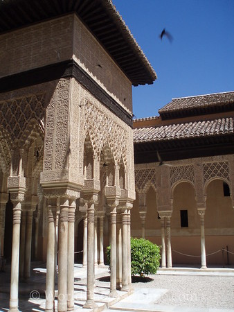Alhambra - Nasrid Palace - Lions - Courtyard of Lions 1