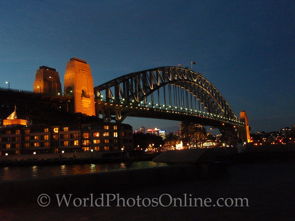 Sydney - Harbor Bridge at Night 2