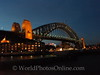 Sydney - Harbor Bridge at Night 2