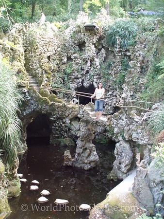 Sintra - Quinta da Regaleira - Waterfall Grotto