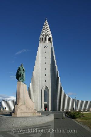 Reykjavík - Hallgrímskirkja (Lutheran church)
