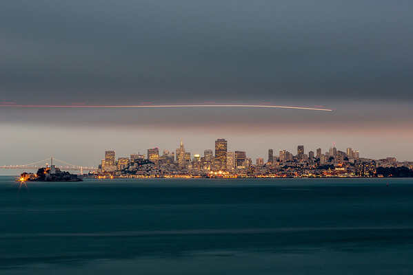 The Skyline From Tiburon - San Francisco, CA Last night I had the honor of shooting and finally meeting  #thejarvie  +Scott Jarvie. A small group of us +Todd Sipes +Michael Bonocore +Tressa Crozier and +Maximilian Laue ended up at a pretty cool spot in Tiburon. I have never been to this area, so it was pretty cool seeing the Golden Gate the right and the city with Alcatraz and the Bay Bridge. Definitely a view I will be re visiting. Here is one shot that had a Coast Guard helicopter flying through. There were 2 copters and a coast guard boat spotlighting all over the water, looking for something.   http://smu.gs/QKQFJk