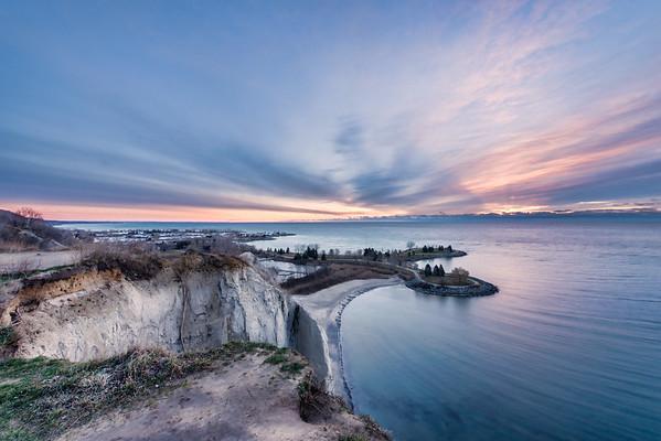 A Sunrise Bluff