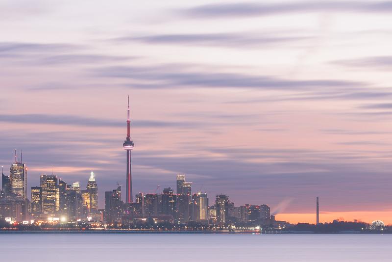 The Morning City Lights