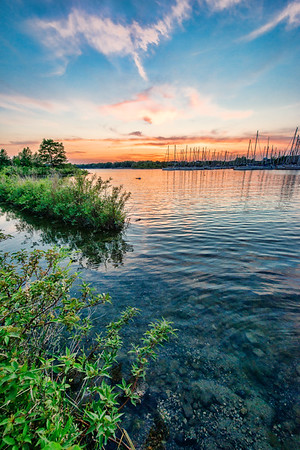 A Marina Sunset