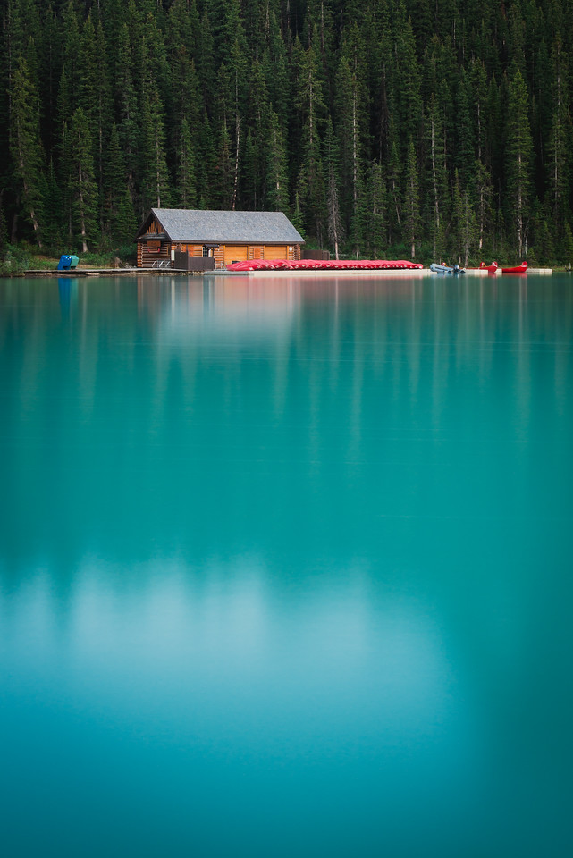 The Lone Boathouse