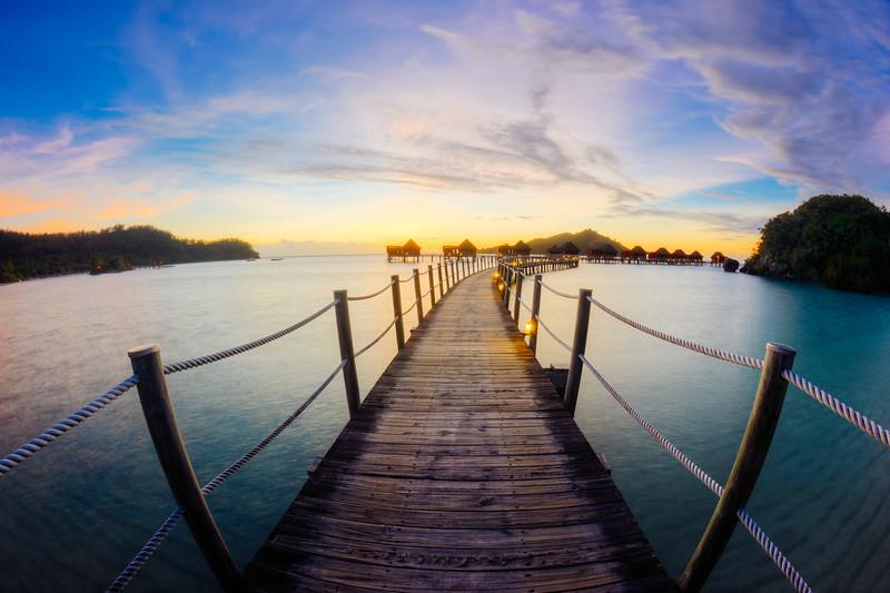 A Paradise Sunset
