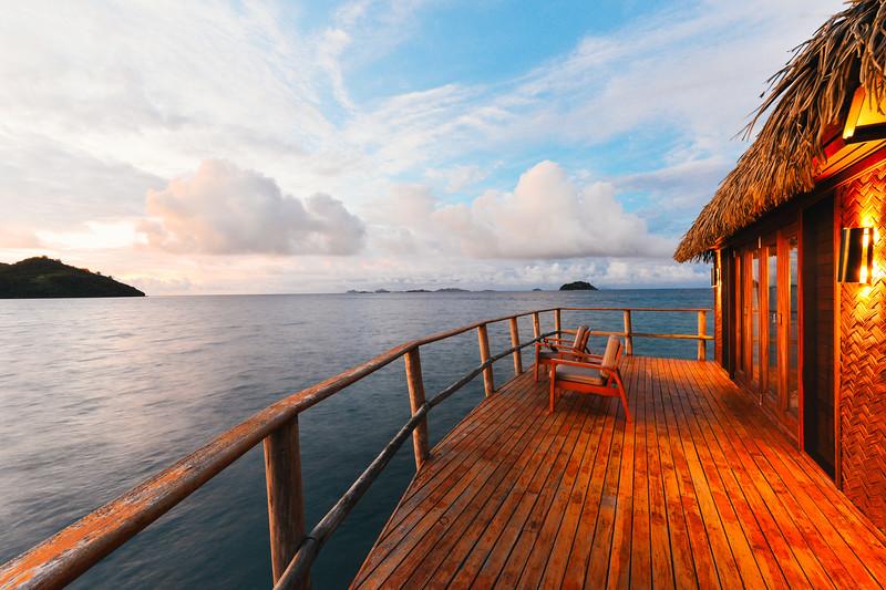 Overwater Bungalow in Fiji