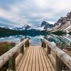 Bow Lake Morning Light