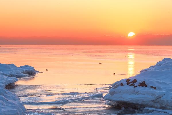 A Pastel Sunrise