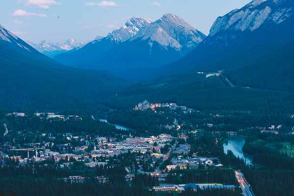The Town of Banff