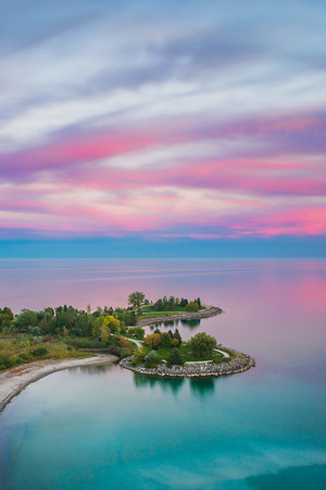 The Scarborough Bluffs Sunset