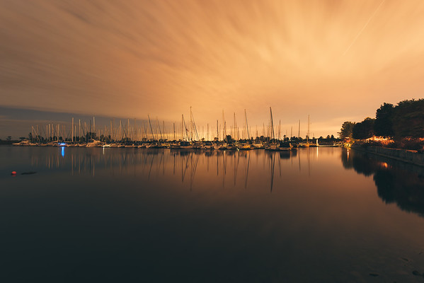 A Marina Sunset