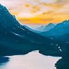 Peyto Lake Sunset