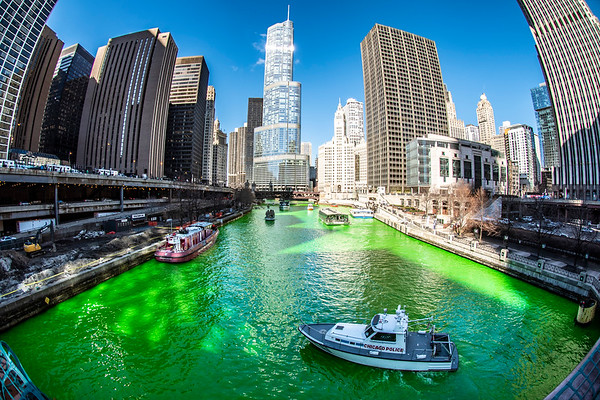 The Greening of the Chicago River 2019 Edition