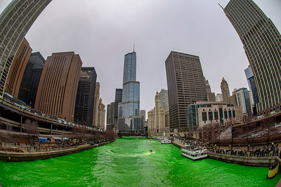 The Greening of the Chicago River, 2018 edition