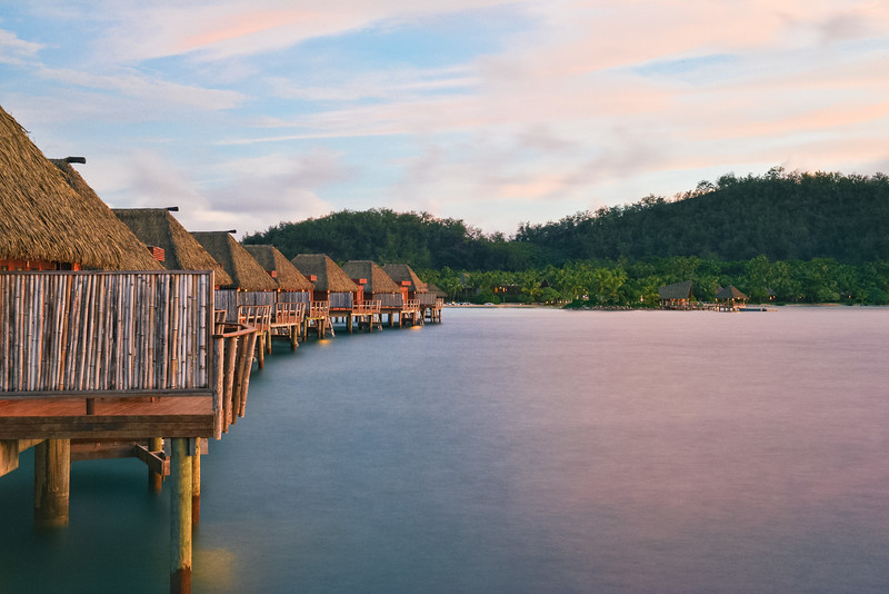 The Overwater Bungalows of Fiji