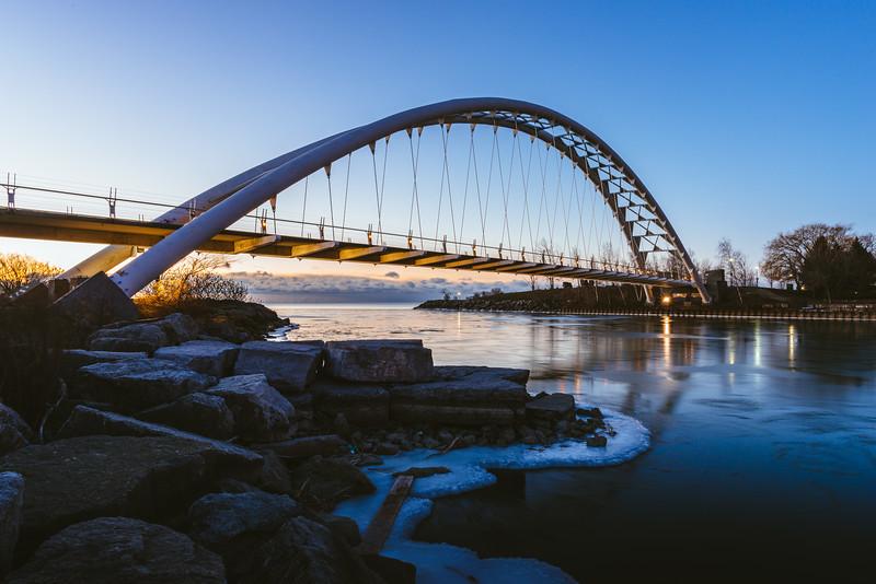 The Humber Bay Arch Bridge