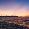 Sunrise Glow Over Choppy Waters