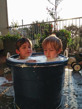 Bucket Bath