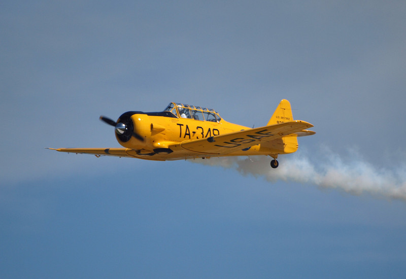 T-6 at AirVenture - 26 July 2010