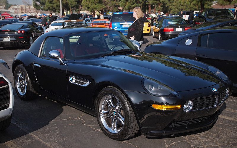 Z8 with hard top at Supercar Sunday in Thousand Oaks - 26 Feb 2012