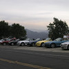 Stopped at a lookout in Malibu Canyon - 1 Oct 2006