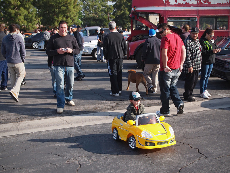 Remote control at Supercar Sunday in Thousand Oaks - 26 Feb 2012