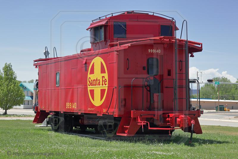 Santa Fe Caboose #999140