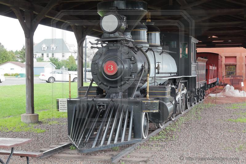 D&IR #3 Mogul Type (2-6-0) Steam Locomotive