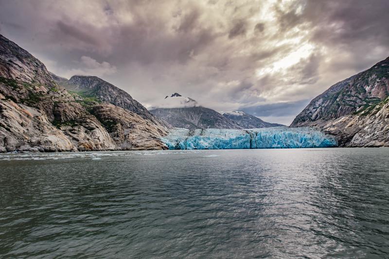 Dawe's Glacier south end of Endicott Arm