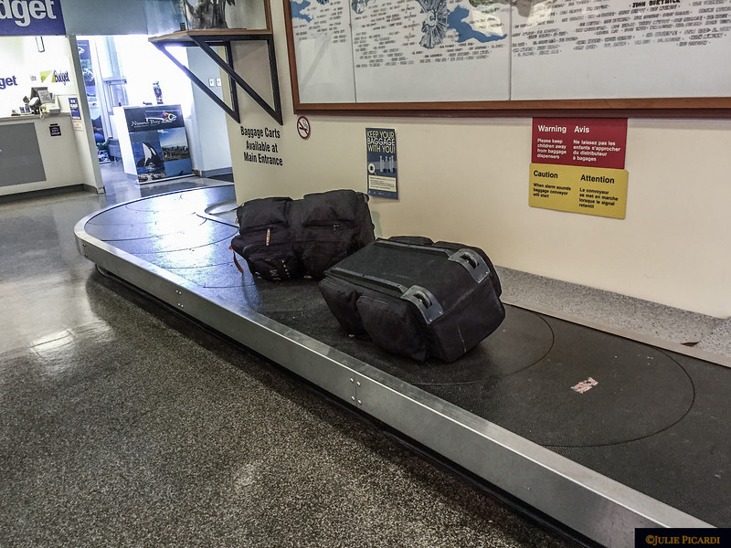 Our two bags look lonely.
