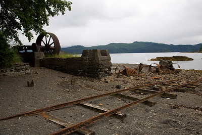 Abandoned works at Queen Charlotte City.